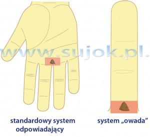 Stymulacja punktów odpowiadających pęcherzowi moczowemu