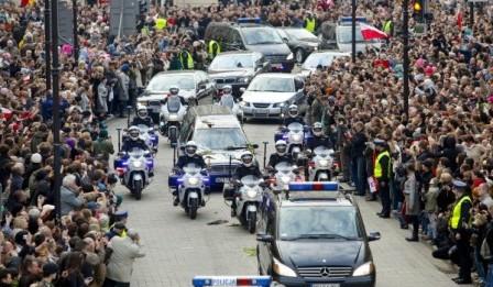 Warszawa żegna Prezydenta